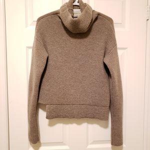 Babaton Wool-Cashmere Blend Turtleneck Sweater